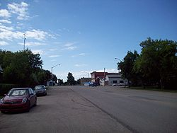 Main Street, Qu'Appelle, 2008.