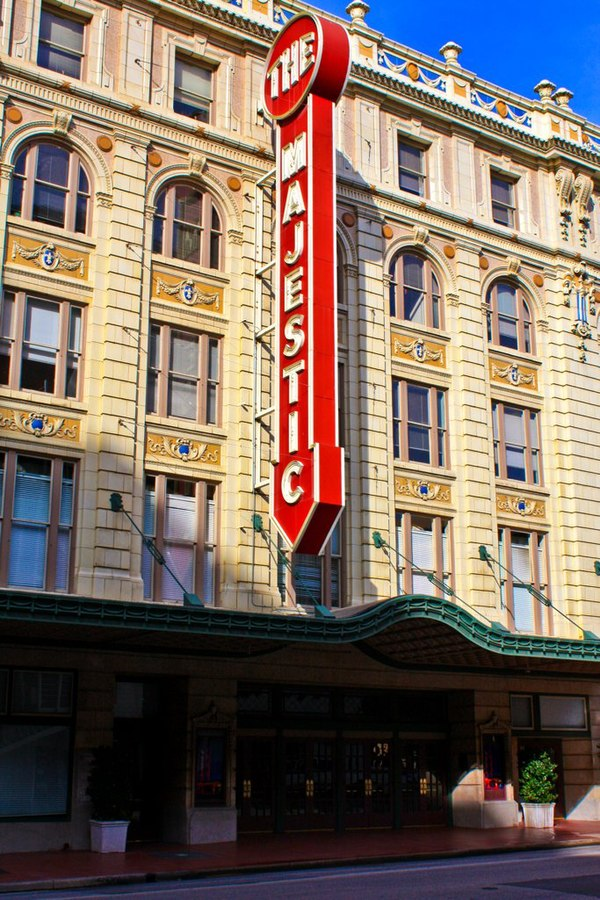 Majestic Theatre Dallas Texas