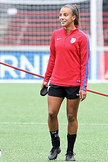 Mallory Pugh American association football(soccer) player