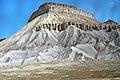 Mancos Shale badlands (Upper Cretaceous; northern side of Grand Valley, western Colorado, USA) 4 (29618104454).jpg