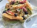 Mango Avocado Almond Salad - The Rogue Elephant, Bangalore - karnataka - DSC 0005.jpg
