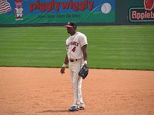 Manny Alexander - Alexander with the Oklahoma RedHawks in 2005