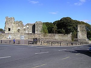 Manorhamilton - Manorhamilton Castle.