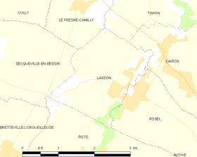 Map commune FR insee code 14356.png