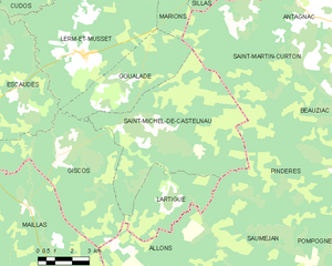 Map commune FR insee code 33450.png