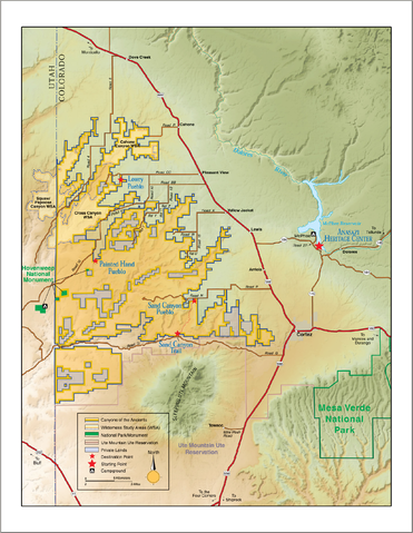 Datei:Map of Canyon of the Ancients National Monument.png ...