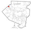 Map of Leet Township, Allegheny County, Pennsylvania Highlighted.png