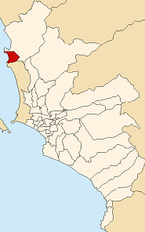 Map of Lima highlighting Santa Rosa.PNG