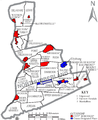 Map of Northumberland CountyPennsylvania With Municipal and Township Labels.png