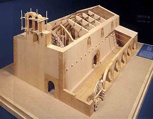 Gothicmed - Model of Olocau Church (Valencia) by Carlos Martínez