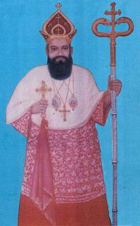 Punnathra Dionysius III Malankara Metropolitan