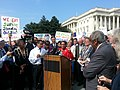 Marcia Fudge speaking during the 2013 government shut down.jpg