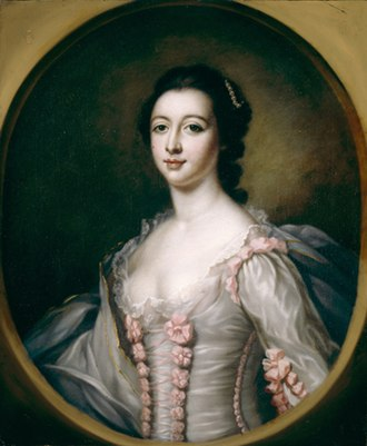 Maria Coventry, Countess of Coventry - The Countess of Coventry, after Francis Cotes