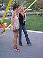 Maria Menounos & netflix friend (833727328).jpg