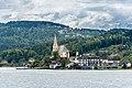 Maria Wörth Pfarrkirche hll. Primus und Felizian und Rosenkranzkirche NW-Ansicht 06052019 6745.jpg