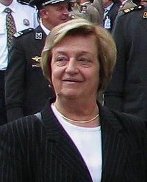 Zagreb local elections, 2005 - Image: Marina Matulović Dropulić 25 06 09cropped
