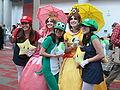 Mario cosplayers at FanimeCon 2010-05-29 2.JPG