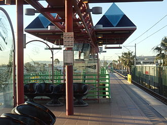Mariposa station (Los Angeles Metro) - Mariposa Metro Green Line Station.