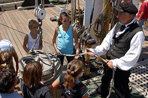 Ocean Institute - Maritime history program, tall ship Pilgrim, Ocean Institute