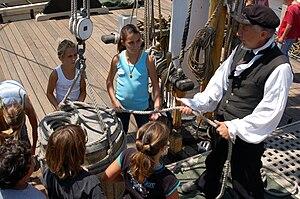 Ocean Institute - Maritime history program, tall ship Pilgrim, Ocean Institute