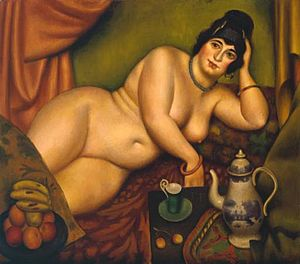 Mark Gertler (artist) - Queen of Sheba, 1922