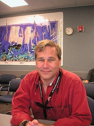 Mark Adler - Mark Adler at the JPL in 2002