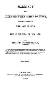 Index:Marriage with a deceased wife s sister o pdf