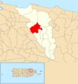 Martín González, Carolina, Puerto Rico locator map.png