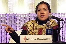 Martha Gonzalez of Quetzal, 2008