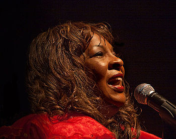 Martha Reeves 2011 at Berns in Stockholm, Sweden