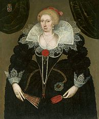 Portrait of Susanne de la Brisollières.