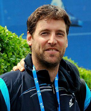 Martin Štěpánek (tennis) - Image: Martin stepanek coach