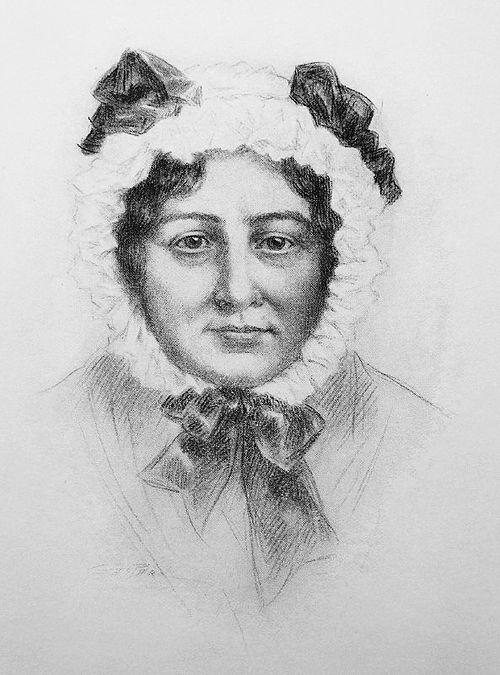 Mary lamb portrait