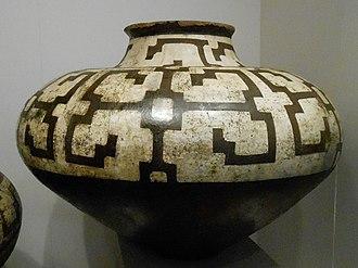 Icaro - Pattern on a Shipibo artisanal pot.