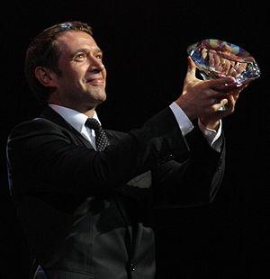 Vladimir Mashkov - Mashkov holding a Diamond in 2009