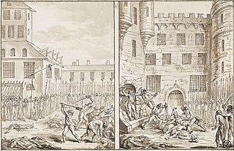 Saint-Germain-des-Prés - Massacre at the Abbey of Saint‑Germain‑des‑Prés (2 September 1792)