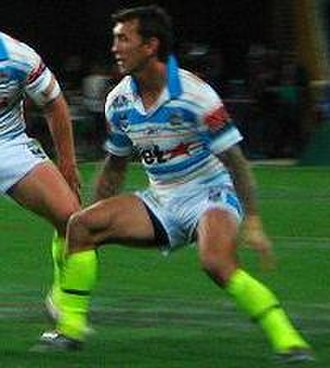 Mat Rogers - Rogers playing for the Gold Coast Titans