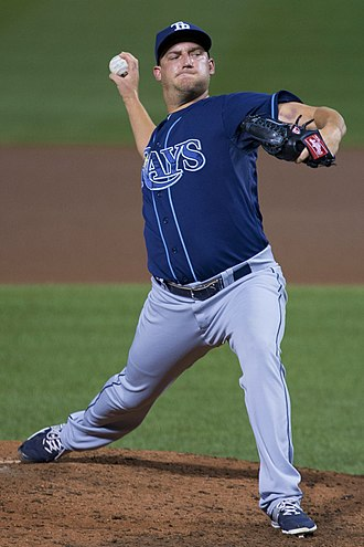 Matt Andriese - Andriese with the Tampa Bay Rays