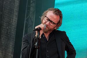 Matt Berninger - Matt Berninger at Way Out West in Gothenburg, Sweden, August 2014