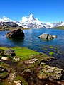 Matterhorn from the Stellisee, Switzerland - panoramio.jpg