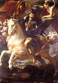 Mattia Preti - St. George on Horseback - WGA18397.jpg