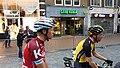 Maurits Lammertink and Steven Lammertink after Rush Hour Nijmegen 2017.jpg