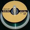 Maxell DVD-RW 4.7GB crop 20051120.jpg