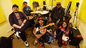 Mayonnaise (band) - Mayonnaise line-up as of 2015 to present (from L-R): Tirona, Regalado, Servano, Macalino, Furio
