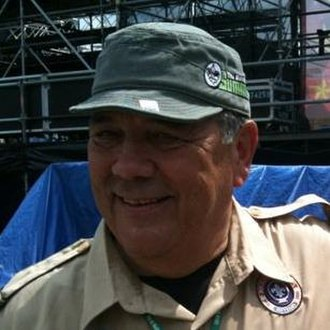 Robert J. Mazzuca - Mazzuca at the 2010 National Scout Jamboree in Fort A.P. Hill, Virginia