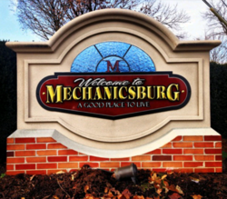 Mechanicsburg, Pennsylvania Welcome Sign.png