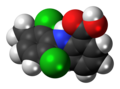 Meclofenamic acid molecule spacefill.png