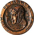 Medaglia del presidente Ciampi VII centenario nascita Francesco Petrarca.jpg