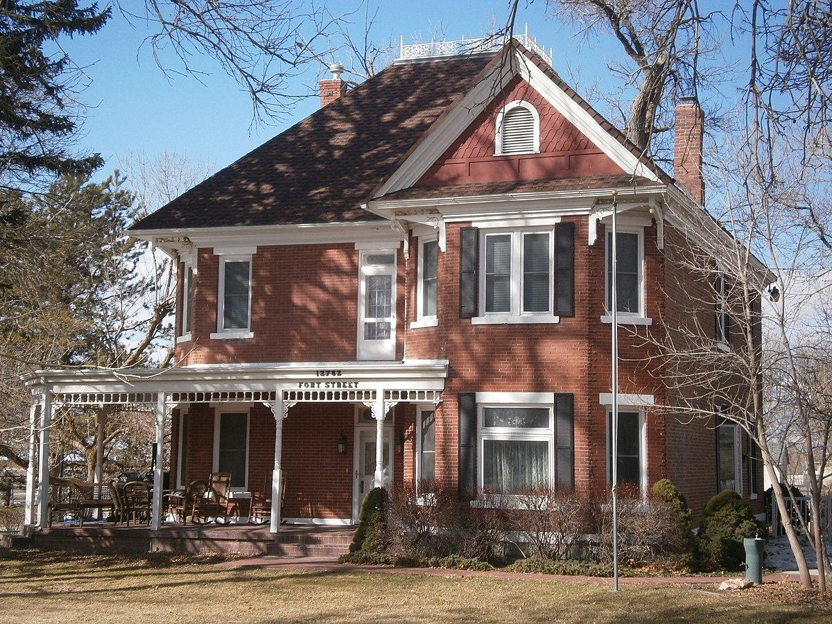 Benjamin and olivia meek house wikipedia for Utah house