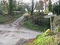Meeting of the lanes, Stockton - geograph.org.uk - 1052694.jpg